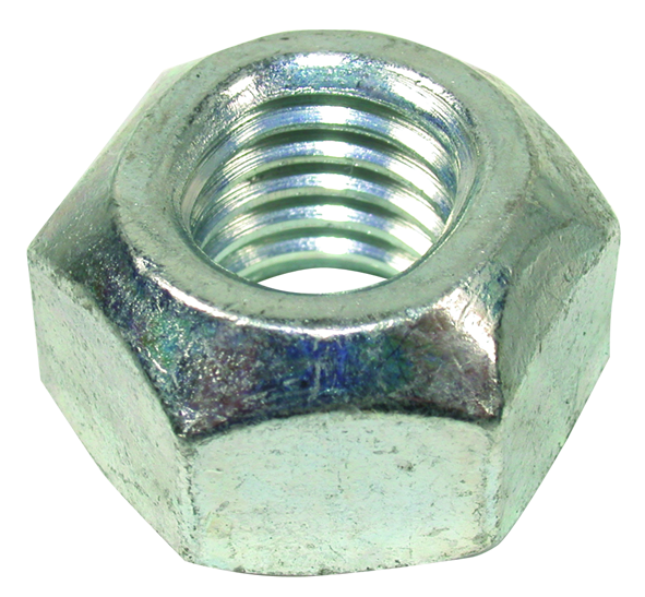 Fine thread screw nut stop castle metric or